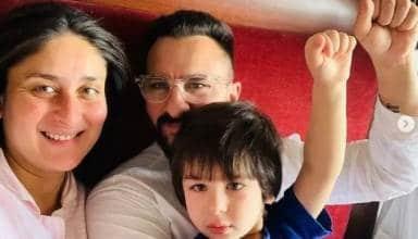 Kareena Kapoor Khan shared photos with Saif Ali Khan and Taimur